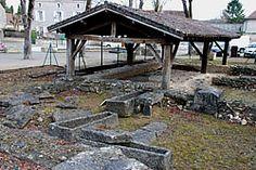 Civaux, Piscine baptismale VIIe s