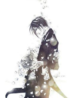 Ciel Phantomhive   Sebastian Michaelis   Black Butler   Kuroshitsuji   ♤ #anime ♤