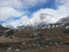 Mt Nuptse 7861 meters high above the sea. This is located near Mt. Everest Nepal.