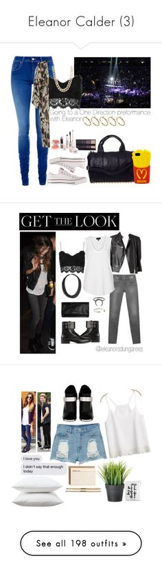 """Eleanor Calder (3)"" by the-girl-in-the-hallway ❤ liked on Polyvore featuring Salsa, Topshop, Converse, Moschino, ASOS, Jane Norman, Zara, Yves Saint Laurent, AllSaints and eleanorcalder"