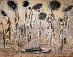 Anselm Kiefer, The orders of the night (Die Orden der Nacht), 1996, emulsion, acrylic and shellac on canvas.