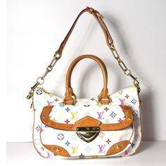 Tip: Louis Vuitton Shoulder Bag (White)
