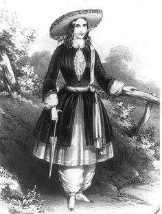 The Bloomer Costume, Amelia Bloomer, 1851