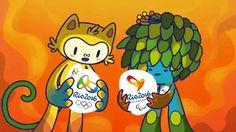 Conheça os mascotes - Meet the mascots | Rio 2016
