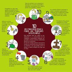 10 reccomendaciones para un #TurismoSostenible