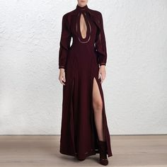 Pin for Later: 150+ Fashion Gifts to Add to Your Holiday Wish List Now  Zimmermann Rhythm Moulded Mulberry Dress ($2,795)