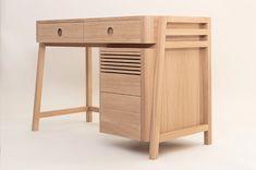 Detailed Furniture designs that put your IKEA furniture to shame! | Yanko Design Ikea Furniture, Furniture Design, Yanko Design, Showcase Design, Classic Furniture, Wood Design, Cabinet Doors, Solid Oak, Architecture Design