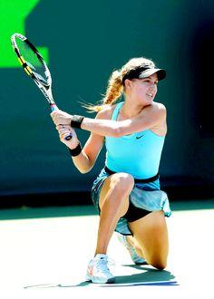 My Second love Eugenie Bouchard @ Sony Ericsson Open in Key Biscayne, FL March 2014 #WTA #Bouchard #SonyOpen