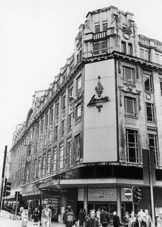 The Lewis's department store on Market Street