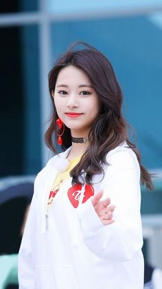 Tzuyu Clothing Tzuyu Style Tzuyu Outfit Tzuyu Fashion Tzuyu Airport Fashion Twice Clothing Twice Style Twice Outfit Twice Fashion Twice Airport Fashion Nayeon, Kpop Girl Groups, Korean Girl Groups, Kpop Girls, Korean Beauty, Asian Beauty, K Pop, Twice Clothing, Twice Tzuyu