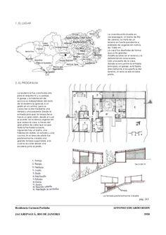 Trabalho de análise do projeto Residência Carmem Portinho de autoria do arquiteto Affonso Eduardo Reidy. Trabalho realizado para a disciplina Proyectos III, da Universidade de Valladolid, Espanha.
