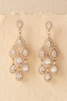 Furniture Humble Bohemian Big Statement Earrings For Women Luxury Crystal Antique Gold Long Earrings Indian Jewelry Wedding Accessories