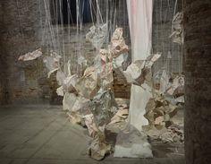 Biennale Venezia 2017 Arsenale (my photo) Venice Biennale, Urban Art, Installation Art, Flow, Interiors, Street, Painting, Paper, Art