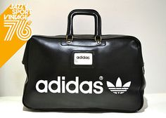 Vintage 1970s Adidas Northern Soul Holdall Weekend Sports Bag Made In France on eBay!