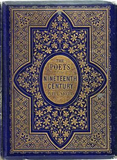 Binding designed by John Sliegh for The Poets of the Nineteenth Century (1857) - pattern