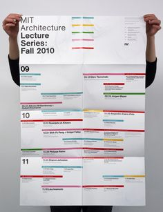 MIT Architecture, Lecture Poster, Fall 2010