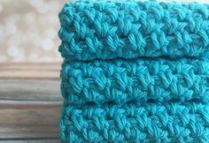 Cotton Crochet Dishcloth/Washcloth...