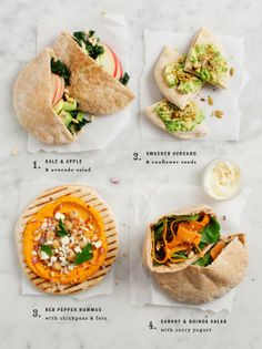Easy, healthy lunch ideas