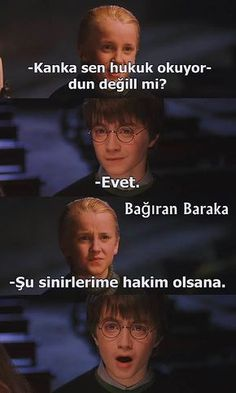 Hogwarts'dan Treniyle Gelmiş 26 Komik Harry Potter Caps'i 26 Funny Harry Potter Caps Arrived by Hogwarts on Train Harry Potter Humor, Harry Potter Comics, Hery Potter, Harry Potter Cast, Funny Animal Quotes, Funny Quotes, Funny Memes, Humor Quotes, Memes Humor