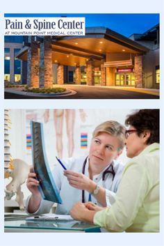 The Pain and Spine Center at Mountain Point Medical Center uses a collaborative team approach to treating a wide range of spine and pain issues.