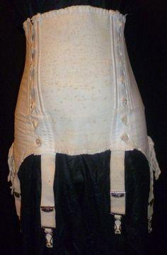 RARE Antique Edwardian 1910 Maternity Corset | eBay January 2013