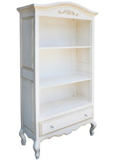 $1864, 39W, 16D, 79H, super tall!, Newport Cottages Provence Bookcase @LaylaGrayce
