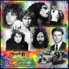 Jim Morrison Collage' Photoartist LisaKay Allen/PassionFeast
