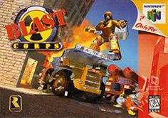 Blast Corps Nintendo 64 Game, Game - Tested and Working - Video Game Nintendo 64 Games, Nintendo N64, Classic Video Games, Retro Video Games, Retro Games, Playstation, Game Tester Jobs, Console, Test Video