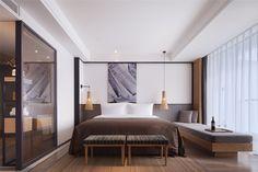Shenzhen Rongor Design & Consultant Co., Ltd · Shenzhen Seven-Star Bay Yacht Club - White Sail Hotel Design Hotel, Home Design, Design Ideas, Design Trends, Design Design, Design Furniture, Bedroom Furniture, Furniture Makers, Luxury Furniture