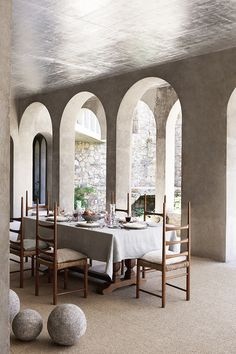 """When describing his work, famed Catalansculptor and artist Xavier Corbero explained, """"the outcome of anything I do has to be poetry."""" A shining example of this ethos isCorbero's home; an eight-acre, nine building estate on that has taken him over forty years to turn into a dramatic example of living,…"""