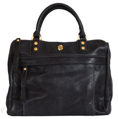 Avery Satchel Emerald Corrente Handbags Made Locally In Nyc