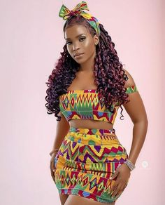African Party Dresses, Short African Dresses, Latest African Fashion Dresses, African Print Fashion, Ankara Fashion, Short Dresses, Pretty Black Girls, Beautiful Black Women, Beautiful Day