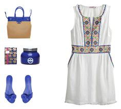 """""""Mel mix"""" by melissa-stockstill on Polyvore featuring Calypso St. Barth, Sophia Webster, Tory Burch, Lilly Pulitzer and Capri Blue"""