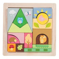 Le Toy Van Friends of the Forest Puzzle `One size Age : 12 months and upwards * Number of pieces : 16 * Fabrics : Wood * Length : 22,3 cm, Width : 22,3 cm, Height : 2,3 cm. * Conforms to CE standards http://www.MightGet.com/january-2017-13/le-toy-van-friends-of-the-forest-puzzle-one-size.asp