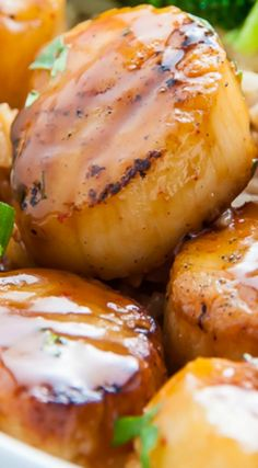 Honey-Glazed Scallops ~ They are Incredible... and ready in just 15 minutes!