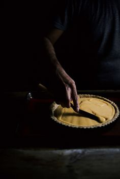 tea and ginger infused lemon tart | A Brown Table