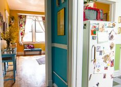 Amy's Vintage Jewel Tone Apartment. I need to either make my house an exact replica of hers, or just move in with her.