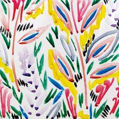 Nature psychedelique : Carreaux Parade, Jade Fourès-Varnier & Vincent de Hoÿm.