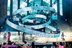 EDM stage design - paradiso festival 2012 dejawood