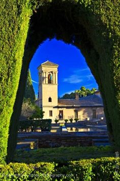 Parador de San Francisco Granada, Spain.  The only hotel inside Alhambra, with private access to its gardens.