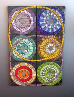 Six Sevenths glass #mosaic                                   #mosaicabstracts #abstractmosaic