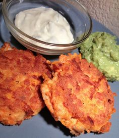 Salmon Cakes with The Best Guacamole and Jalapeno-Lime Mayo | Our Paleo Life