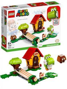 LEGO Super Mario 71367 Ekstrabanen Marios hus og Yoshi Lego Super Mario, Lego Batman, Lego Duplo, Overwatch, Yoshi, Bowser, Nintendo, Bird, Decor