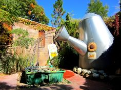 Albuquerque Botanic Garden - The Children's Fantasy Garden is straight off the pages of Alice in Wonderland. Albuquerque, NM - Kid friendly activity reviews - Trekaroo