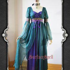 Surface Spell AvalonGothic Lolita Dress Medieval Celt by LunaYosu