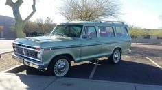 1976 Ford B100. Imported from Mexico.  Met the owner at a swap meet in Glendale Az. Very rare.