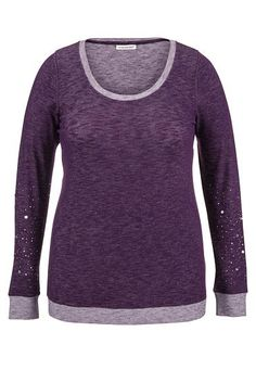 embellished long sleeve plus size pullover - maurices.com