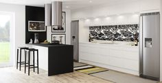 Kust design vik är ett modernt kök från Sentens | Electrolux Home - Electrolux Home  bra lösning