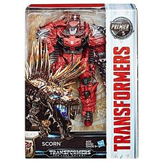 Buy Transformers: Deluxe - Voyager - Scorn at Mighty Ape NZ. Transformers: The Last Knight: Premiere Edition Voyager – Scorn The most powerful warriors in the universe come to incredible, highly-detailed life i. Transformers Film, Transformers Action Figures, Transformers Collection, Last Knights, Spinosaurus, Paramount Pictures, War Machine, Gi Joe, Dc Comics