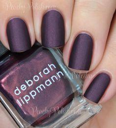 """Deborah Lippmann """"Harem Silks Of Bombay""""   Peachy Polish"""